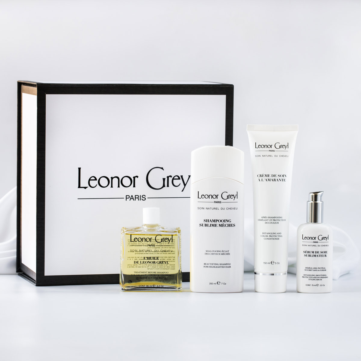 Care for Highlighted Hair Treatment Collection   Leonor Greyl