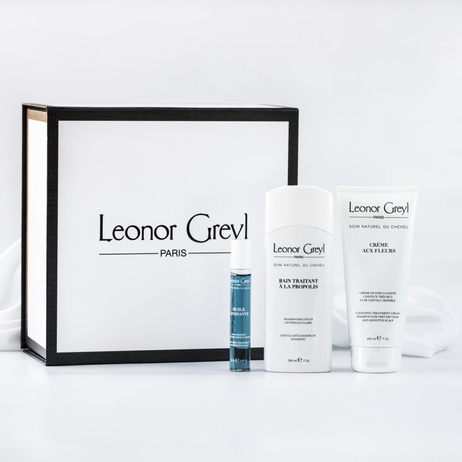 Our best oil for dry scalps + shampoo for sensitive scalps | Leonor Greyl