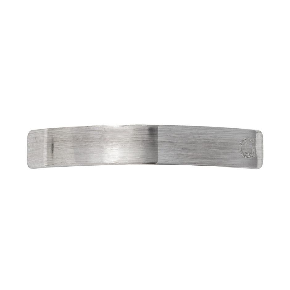 silver barrette by leonor greyl